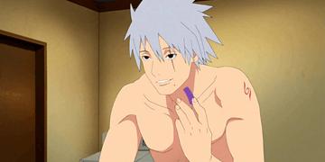 La verdadera cara de Kakashi Hatake (Capitulo 469) lol