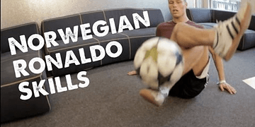 Tobias Becs Freestyle - the Norwegian Ronaldo! | STRskillSchool