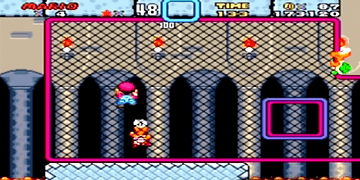 Super Mario World - Boss Stage: Iggy's Castle - SNES - Super Nintendo - HD