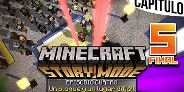 MINECRAFT: STORY MODE | Ep. 4 Cap. 5 SE ACABÓ, HASTA SIEMPRE REUBEN | Gameplay en Español