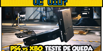 PS4 vs XBO - Teste de queda