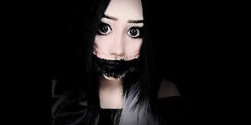 LA NIÑA SIN SONRISA tutorial halloween ♥ miku #4