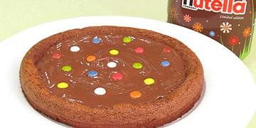 Pastel de Nutella   Solo 2 ingredientes!!