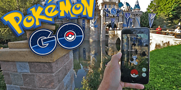 POKEMON EN DISNEYLAND! Pokemon GO - [LuzuGames]