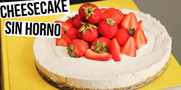Cheesecake Sin Horno | RebeO