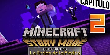 MINECRAFT: STORY MODE | Ep. 1 Cap. 2 RODEADOS POR ZOMBIES Y CREEPERS | Gameplay en Español