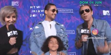 MALUMA en los Premios MTv MIAW 2017