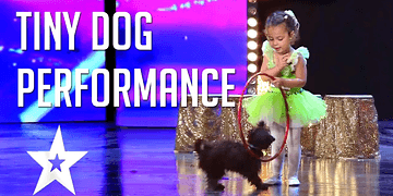 4 Year Old Performs With Her Tiny Dog | Got Talent Global