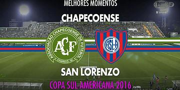 Melhores Momentos - Chapecoense 0 x 0 San Lorenzo - Copa Sul-Americana - 23/11/2016