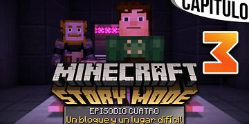 MINECRAFT: STORY MODE | Ep. 4 Cap. 3 EL LABORATORIO SECRETO DE IVOR | Gameplay en Español
