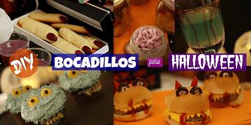 5 BOCADILLOS de TERROR para HALLOWEEN - DIY | What The Chic