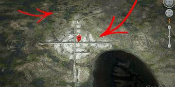 Google Earth REVELA EXTRAÑO SÍMBOLO NAZI en Roswell Nuevo México