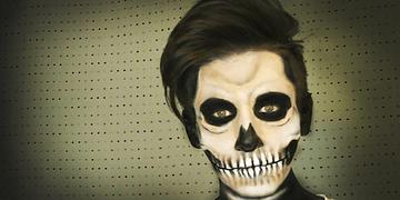 Maquillaje de Calavera / Skull Make up (Halloween) - Soy Georgio