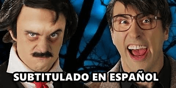 Stephen King vs Edgar Allan Poe - Epic Rap Battles of History - Subtitulado en español