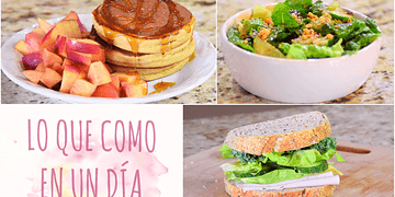Lo que como en un día (Fácil, delicioso y saludable) | Vanilla Regina