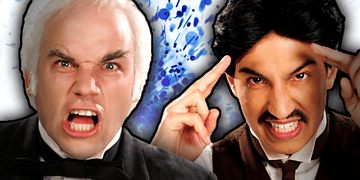 Nikola Tesla vs Thomas Edison. (Subtítulos en Español). Epic Rap Battles of History Season 2.