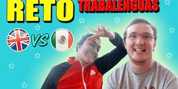 RETO TRABALENGUAS - Británico vs. Mexicana | Kieran Reade