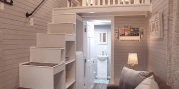 ¿Qué te parece esta mini-casa?