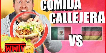 Probando Comida Callejera: Alemania VS México │ Tacos VS Döner Kebab con Makalakesh
