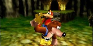 Banjo Kazooie - N64 Gameplay