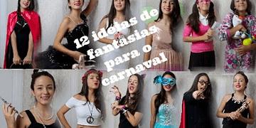 12 ideias de fantasias para o carnaval com suas roupas