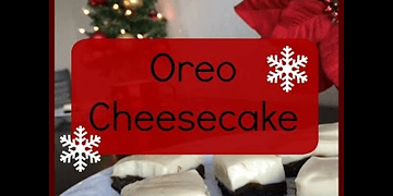 Cheesecake de Oreo SIN HORNO! | Christmas Baking Day 1