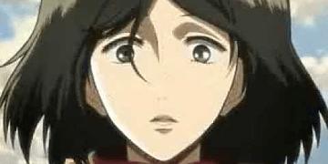 shingeki no kyojin - mikasa llora por eren cap 8