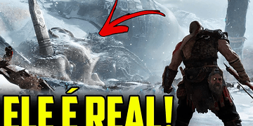 O GIGANTE CAÍDO É REAL E APARECEU NO NOVO TRAILER DE GOD OF WAR!