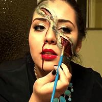 Celebra halloween al estilo más tenebrosos con estos tutoriales de maquillaje