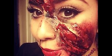 Maquillaje zombie, fácil y barato :) Halloween makeup