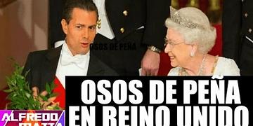Peña Nieto hace el ridículo con la Reina Isabel II