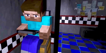 Minecraft vs Five Nights at Freddy's | Video Reacción - JuegaGerman