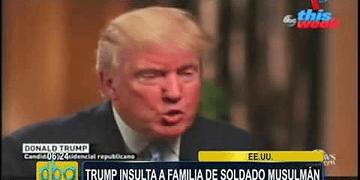 EEUU: Trump insulta a familia de soldado musulmán