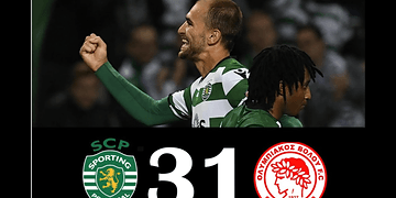 Sporting CP vs Olympiakos 3-1 - All Goals & Highlights - 22/11/2017 HD