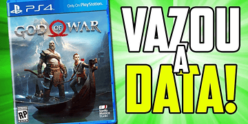 VAZOU A DATA DE LANÇAMENTO DO NOVO GOD OF WAR!!!