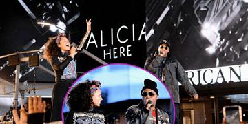 El público se vuleve loco con Jay Z y Alicia Keys en Nueva York