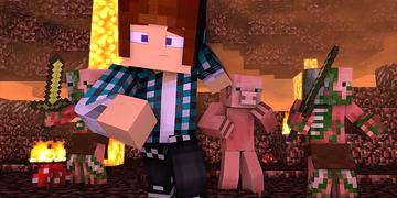 Minecraft - 10 Curiosidades Sobre o Zombie Pigman !!