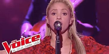 Shakira - « Me Enamore » | La voz Francia