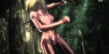 Titan Femenino Shingeki no Kyojin (Attack on Titan) sub esp