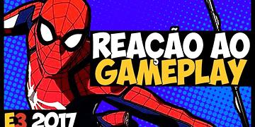 HOMEM-ARANHA PS4 tem combate tipo BATMAN - GAMEPLAY + REAÇÃO! E3 2017