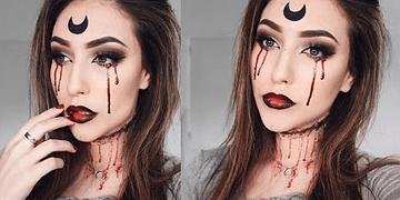 Maquillaje SAILOR MOON Gotica Para HALLOWEEN | Melina Quiroga Makeup