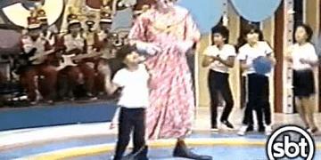Bozo - quadro de calouros - 1990