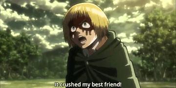 Attack on Titan - Armin,Jean and Reiner vs Female Titan