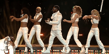 Black Eyed Peas - Superbowl Halftime Show HD 2011 XLV NFL