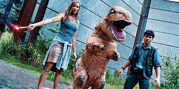 Jurassic Park Meets Parkour In Real Life