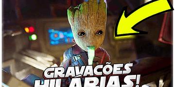 ERROS DE GRAVAÇÃO HILARIOS DE GUARDIÕES DA GALAXIA 2