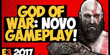 GOD of WAR - NOVO GAMEPLAY com MUITA INFORMAÇÃO! E3 2017