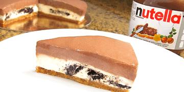 Tarta de Oreo y Nutella sin Horno!!