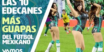 Las 10 edecanes más hermosas del fútbol mexicano en Vamos al Chile