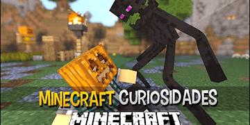 Minecraft - 10 Curiosidades Sobre o ENDERMAN !!